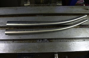 "REYNOLDS ES6815 FORK BLADE ""921"" 27.5X20X1.0/0.6X375 RAKED 45 TIP 13, PAIR (Tig and silver brazed lugs recommended - fillet brazing NOT recommended)"
