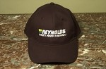 REYNOLDS BLACK COTTON BASEBALL CAP